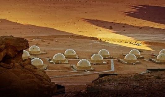 """فندق على """"سطح"""" المريخ.... في الأردن!"""
