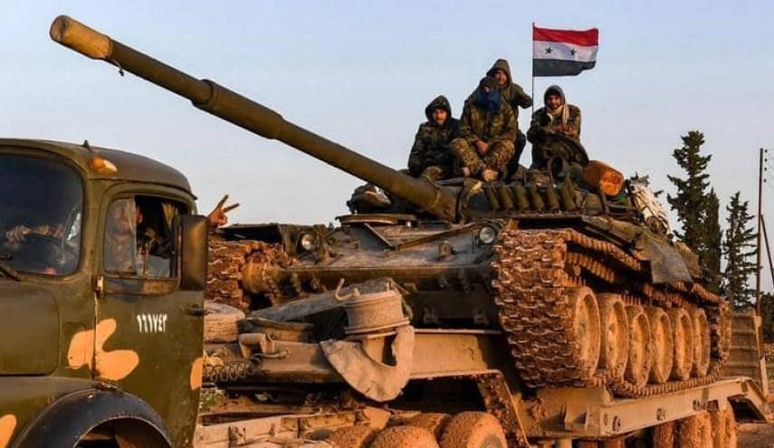 الجيش السوري يعزز انتشاره على طريق الحسكة - حلب الدولي