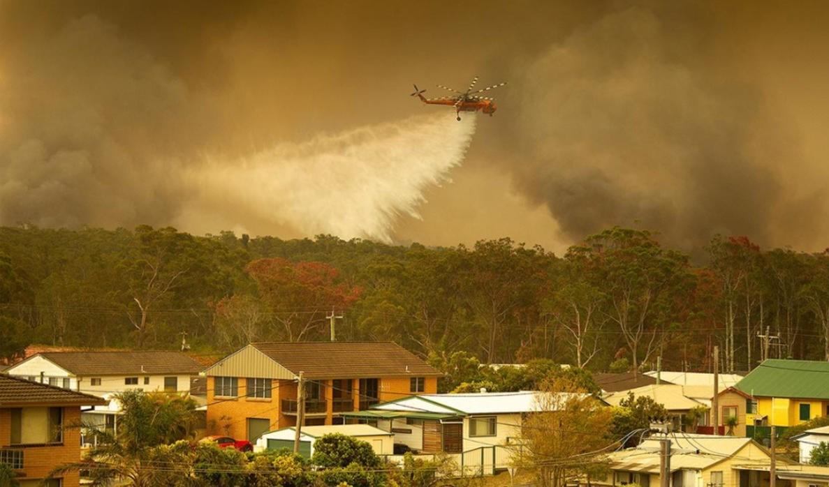 حرائق أستراليا تهدد المنازل