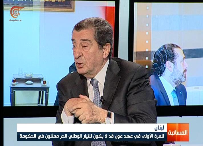 نائب رئيس مجلس النواب اللبناني يدعو الحريري إلى عدم المغالاة في التعامل مع ضغوط الخارج