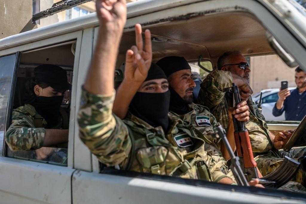 المعارضة السورية تدعم العدوان التركي شمال البلاد