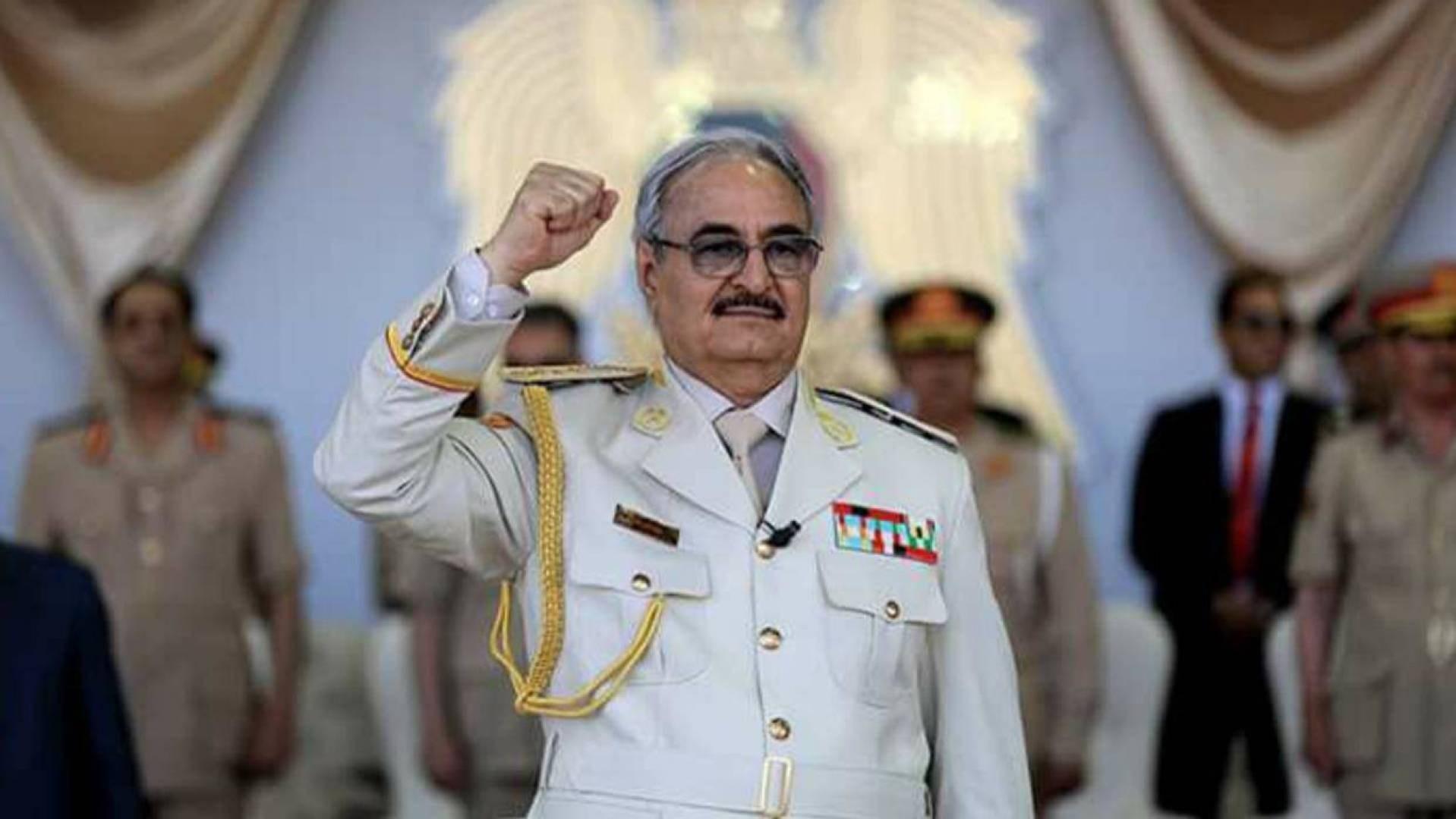 """حفتر يدعو إلى """"المعركة الحاسمة""""في طرابلس"""
