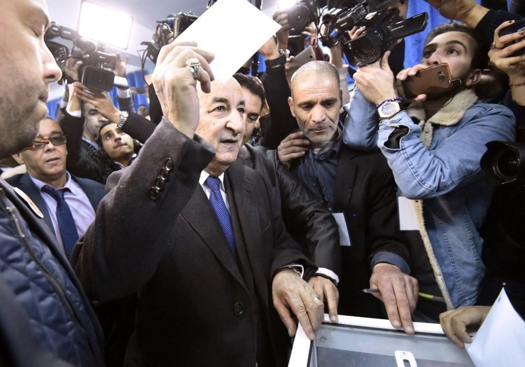 حملة تبون تعلن فوزه بالأغلبية في الانتخابات الرئاسية الجزائرية