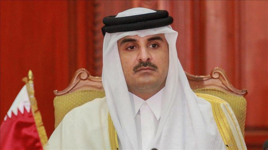 أمير قطر: الدوحة مستعدة لدعم حكومة الوفاق الليبية