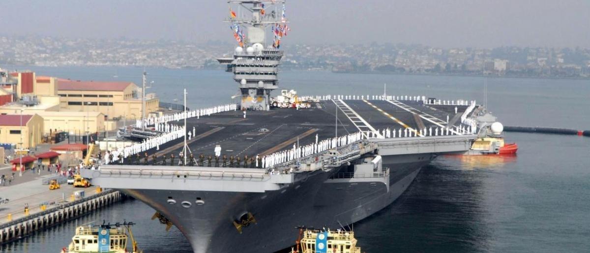 البحرية الصينية تتسلم أول حاملة طائرات بصناعة محلية