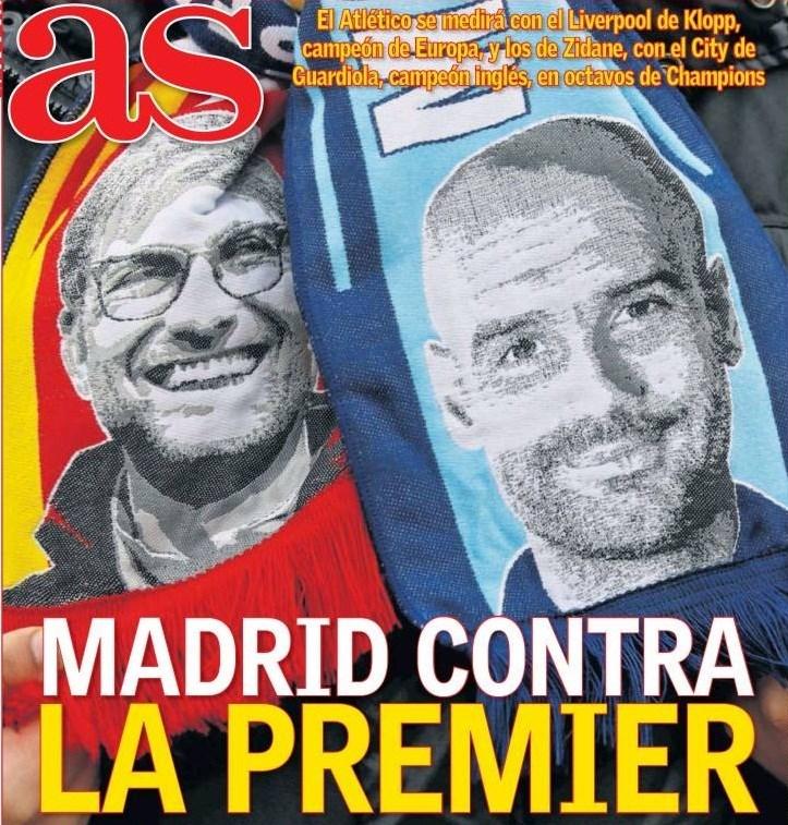 """مدريد ضد... """"البريميير ليغ"""""""