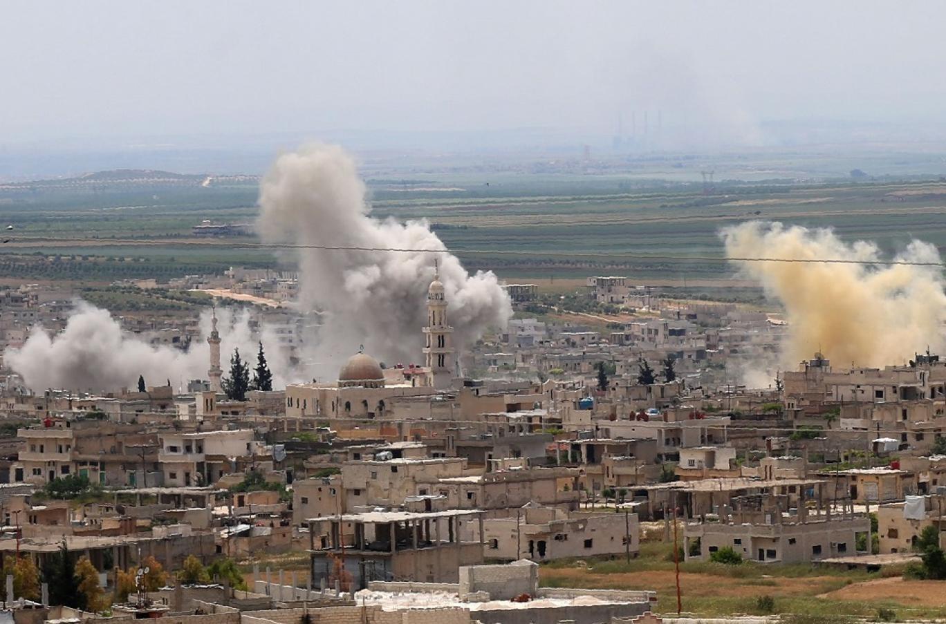 """الجيش السوري يمهّد نارياً لـ """"معركة إدلب الكبرى"""""""