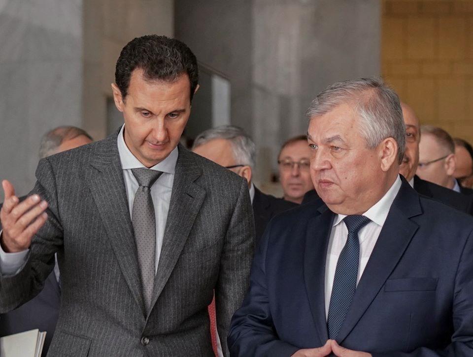 الأسد يلتقي لافرينتيف: سيطرة سوريا على كامل أراضيها ضروري لاستقرارها