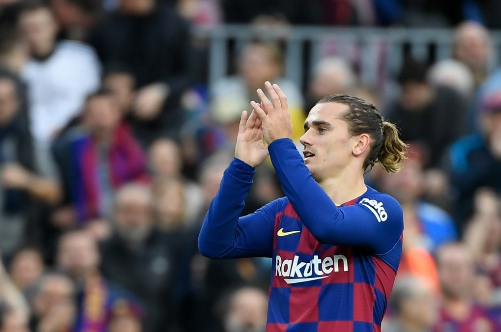ما هي ميزة أهداف غريزمان مع برشلونة؟