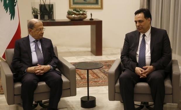 لبنان: دياب يلتقي رئيس الجمهورية.... والحريري يصعّد