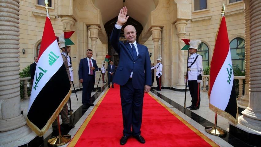 الرئيس العراقي برهم صالح يضع استعداده للاستقالة أمام مجلس النواب