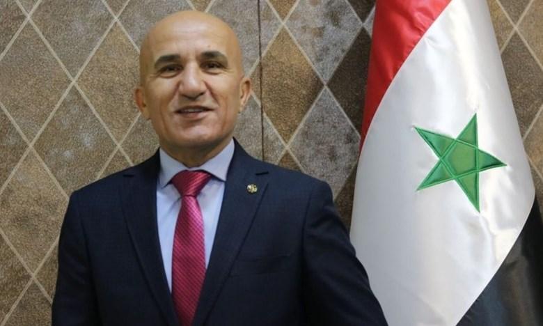 العميد حاتم الغايب رئيساً لاتحاد الكرة السوري