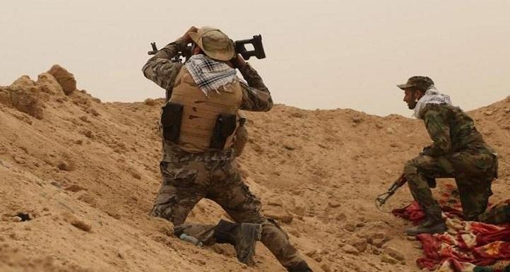 """""""الحشد""""يصد هجوماً لداعش ...وصواريخ على قاعدة عين الأسد في الأنبار"""