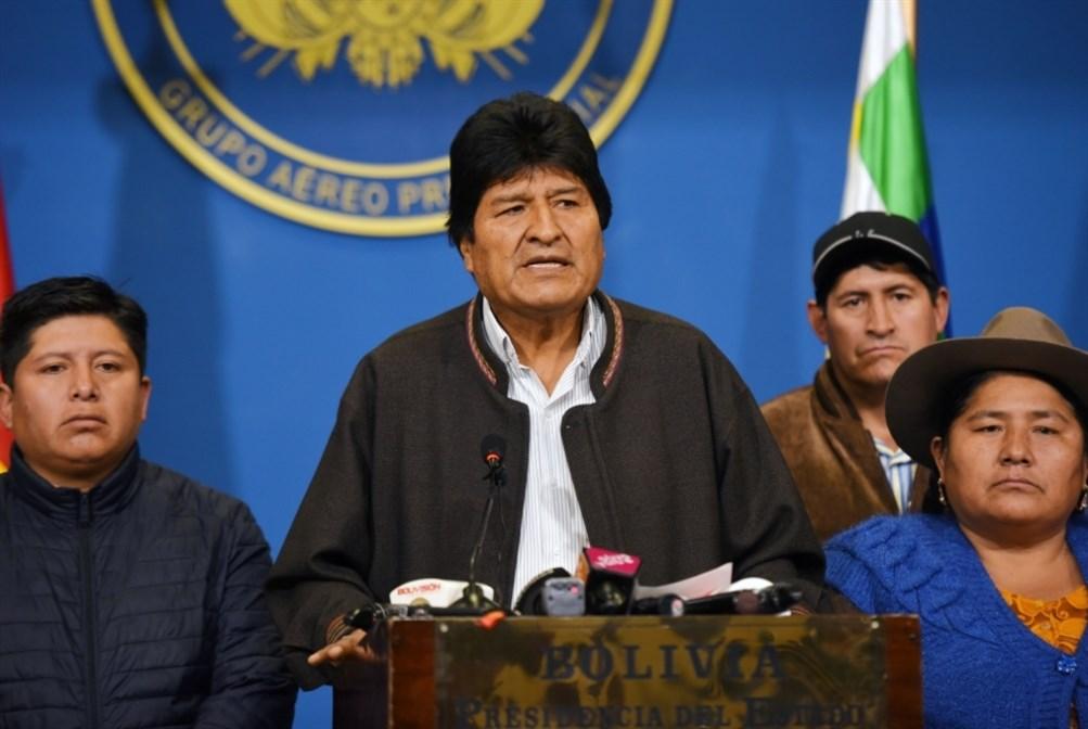 """""""واشنطن بوست"""": لا أدلة على تزوير انتخابات بوليفيا التي فاز فيها موراليس"""