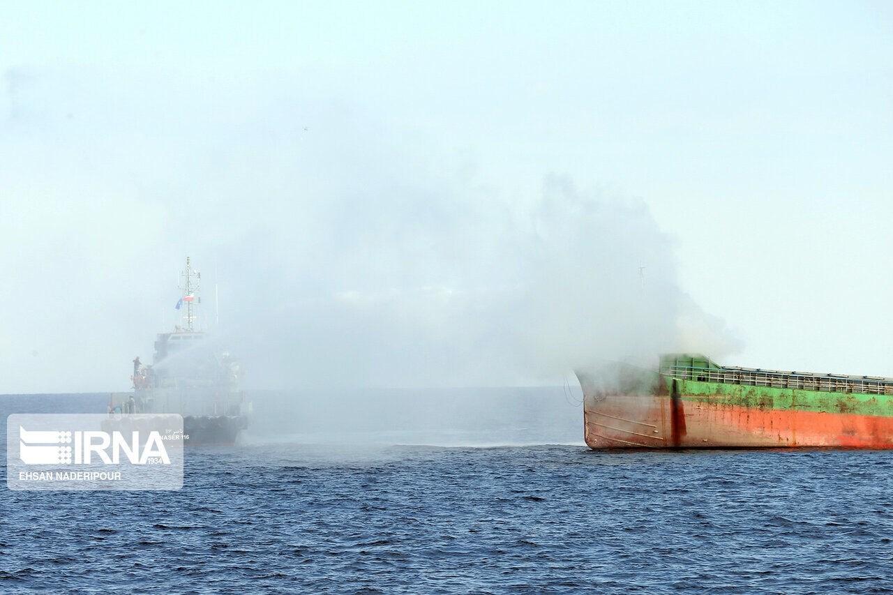 انتهاء المناورات المشتركة بين إيران روسيا والصين شمال المحيط الهندي
