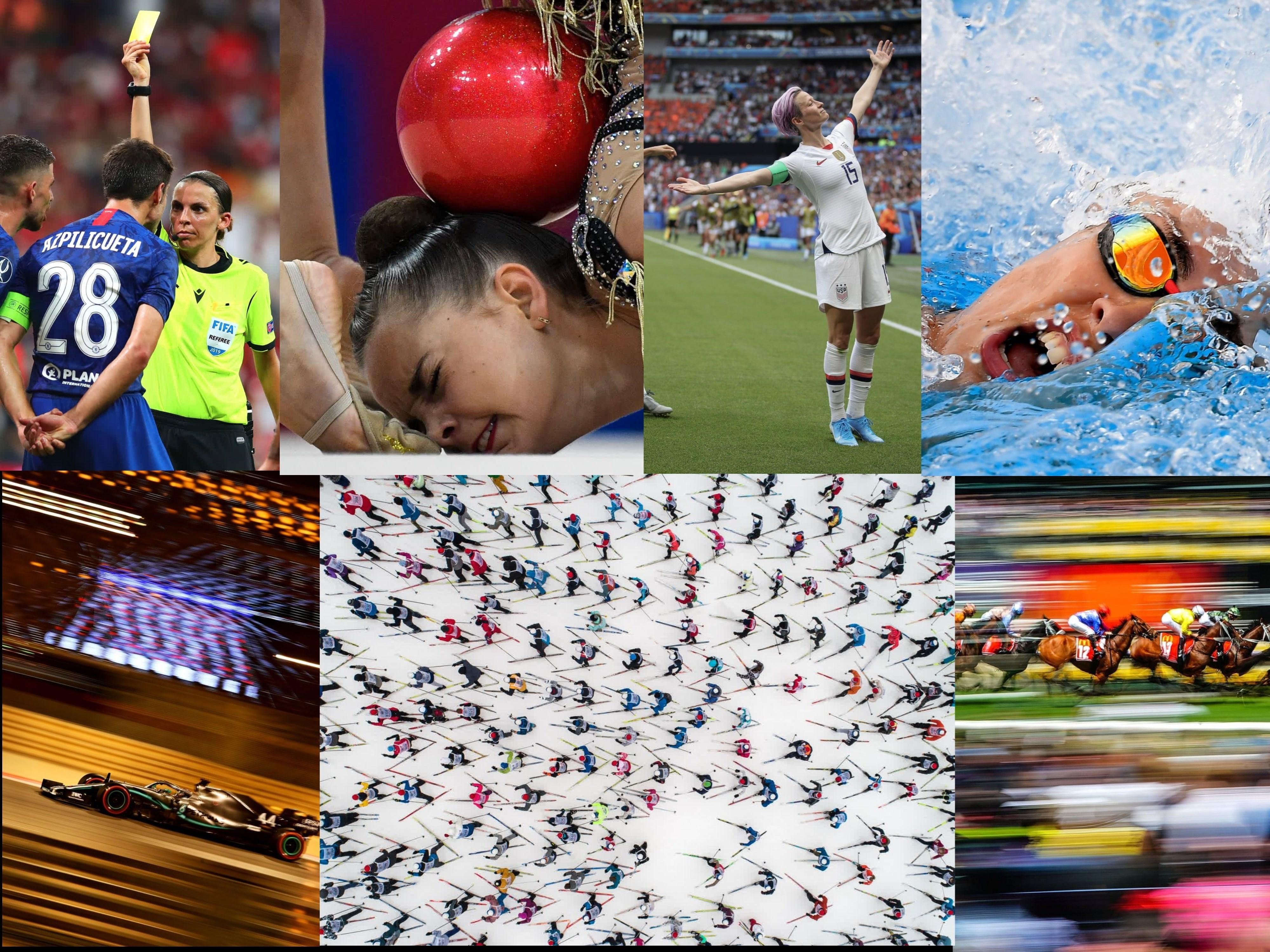 أجمل الصور الرياضية في العام 2019