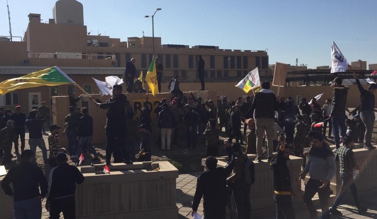 العراق يشيع شهداء العدوان الأميركي... ومواقف سياسيّة مندّدة