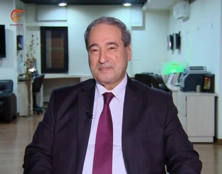 المقداد للميادين: تركيا ودول عربية منها السعودية زودت تنظيمات إرهابية بمواد كيميائية