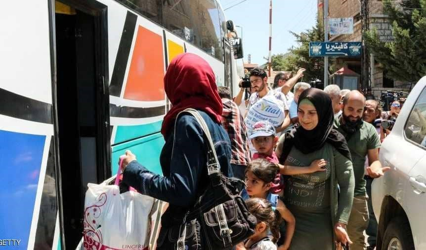 مليون لاجئ سوري عادوا إلى بلادهم معظمهم من لبنان
