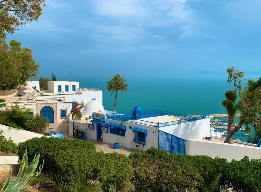تونس... المدينة المفتوحة على البحر بأبواب ملوّنة