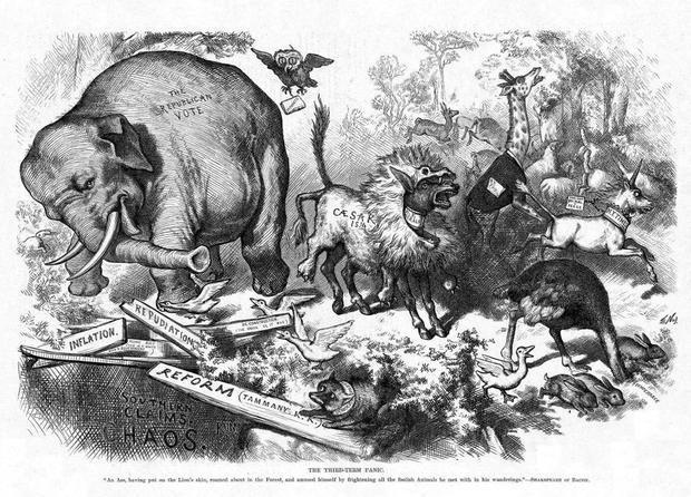 """حيوانات """"تتكلم"""" بالسياسة: أحزاب عالمية تتخذ الحيوانات رموزاً"""