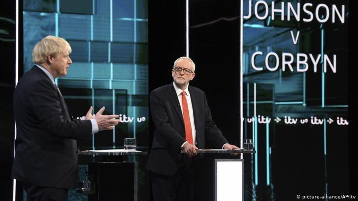 مناظرة أخيرة حذرة بين جونسون وكوربن