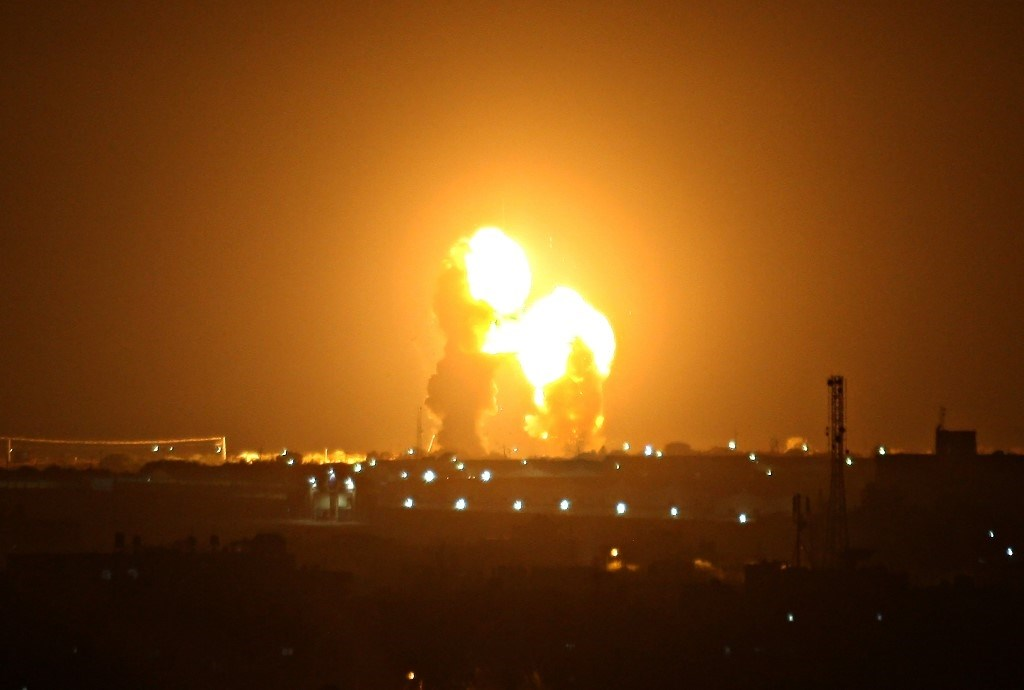 اعتداء إسرائيلي على قطاع غزة والمقاومة الفلسطينية تردّ