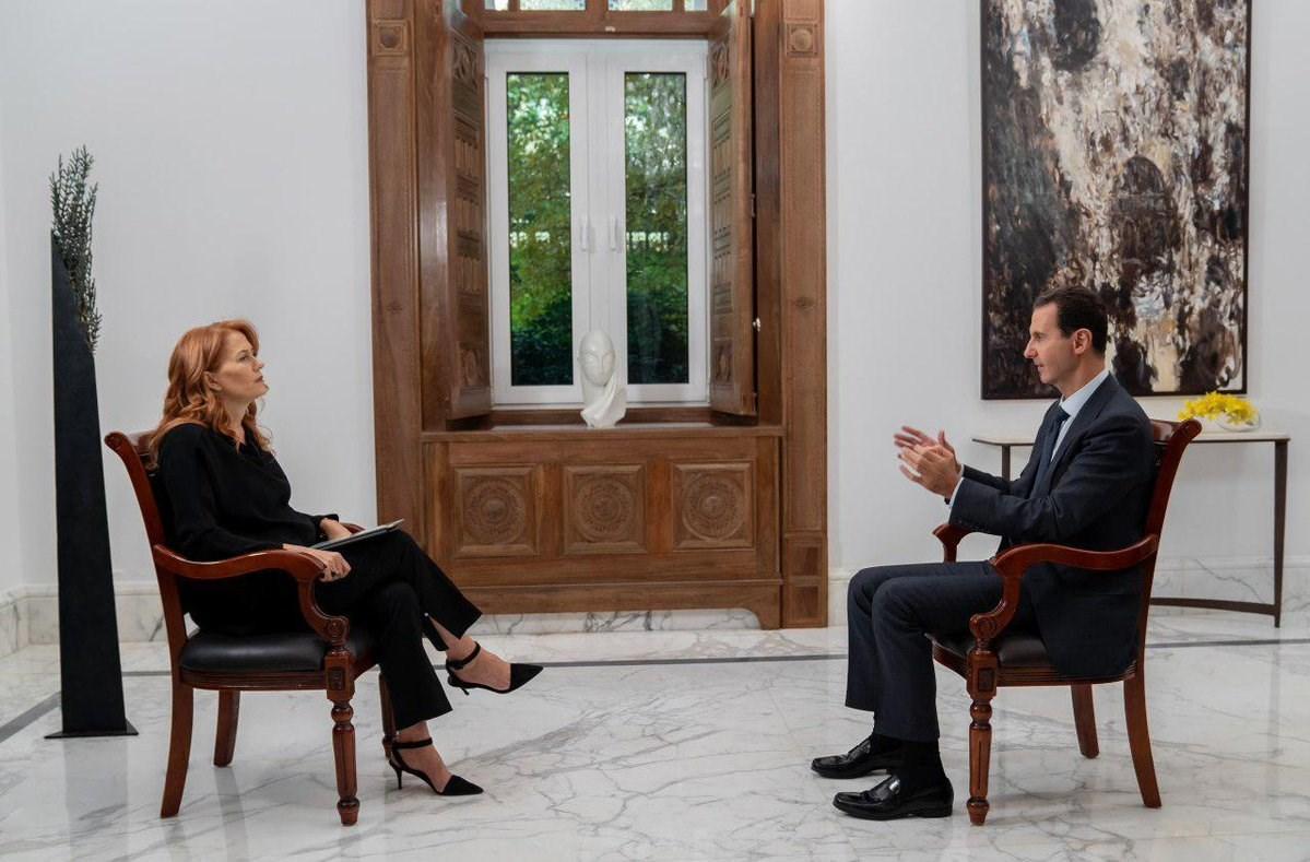 الأسد: سأشعر بالاشمئزاز إذا تعيّن علي إجراء نقاشات مع إردوغان