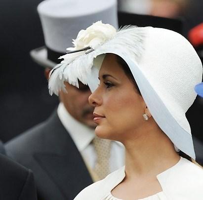 الفارسة الهاشمية الأميرة في ألمانيا