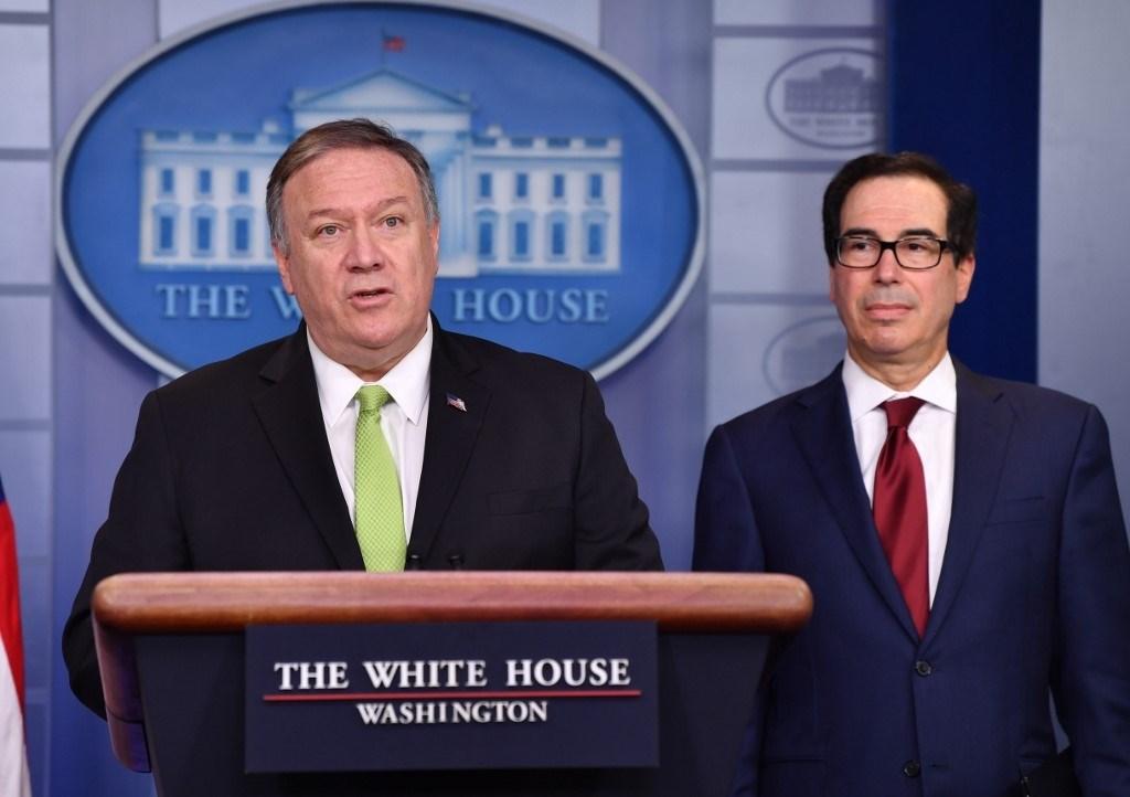 """الولايات المتحدة تفرض عقوبات جديدة على إيران بعد هجوم """"عين الأسد"""""""