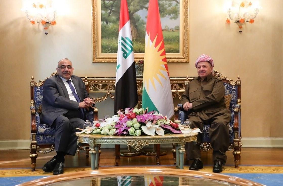 عبد المهدي في أربيل لبحث التوتر بين أميركا وإيران وموقف العراق منه