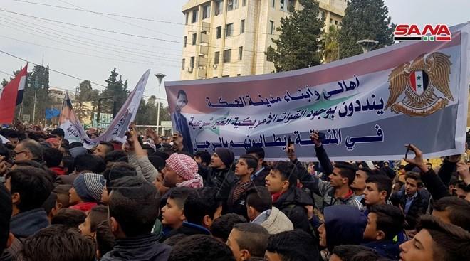 وزارة الدفاع السورية تقيم حفل تأبين للشهيد سليماني في دمشق