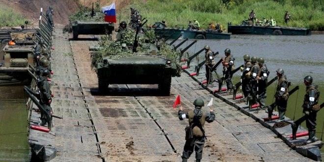 25 ألف جندي روسي.... إلى المناورات