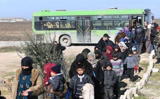 """""""جبهة النصرة"""" تطلق قذائف على محيط ممر الحاضر في ريف حلب الجنوبي"""