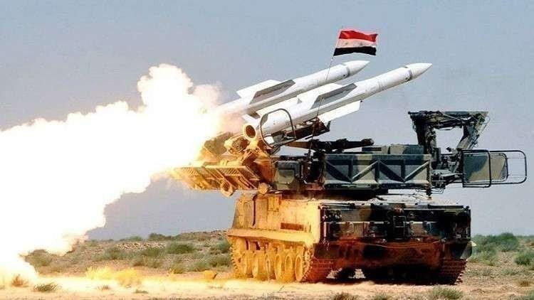 """الدفاعات الجوية السورية تتصدى لعدوان على مطار """"تي فور"""" العسكري"""