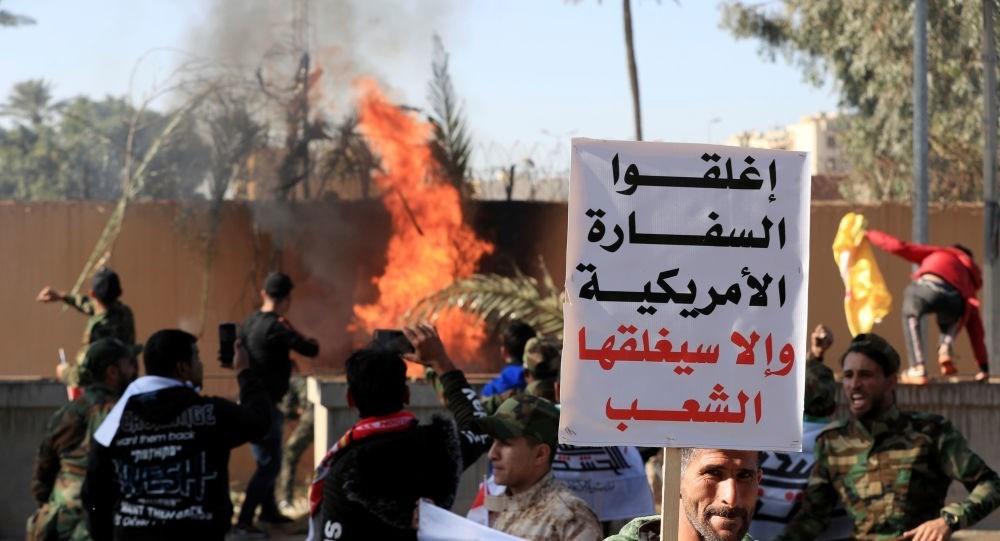 زعيم التيار الصدري وقادة المقاومة العراقية يدعون إلى تظاهرة مليونية رفضاً للوجود الأميركي