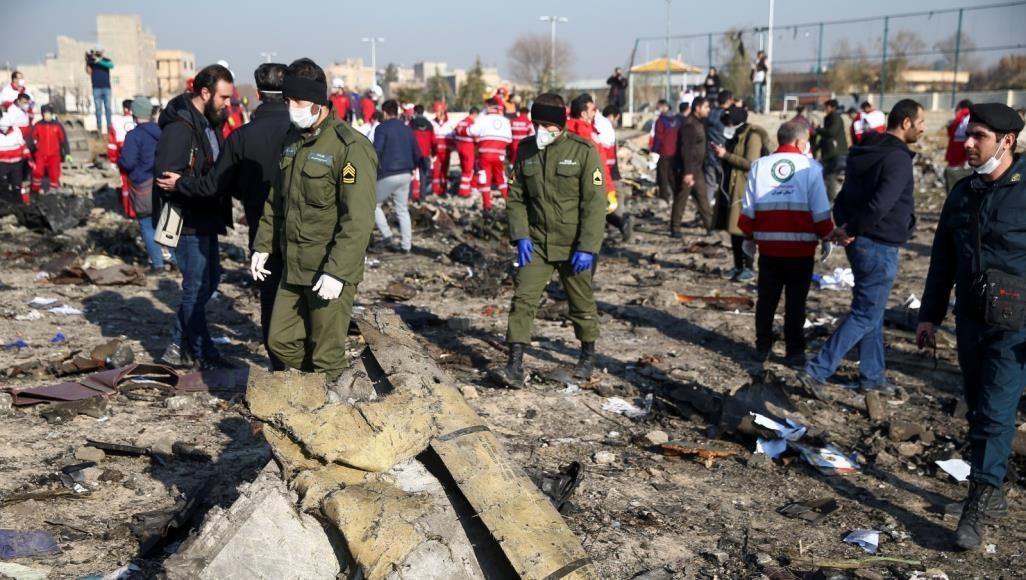 كييف تشكر لإيران تعاونها في قضية الطائرة الأوكرانية