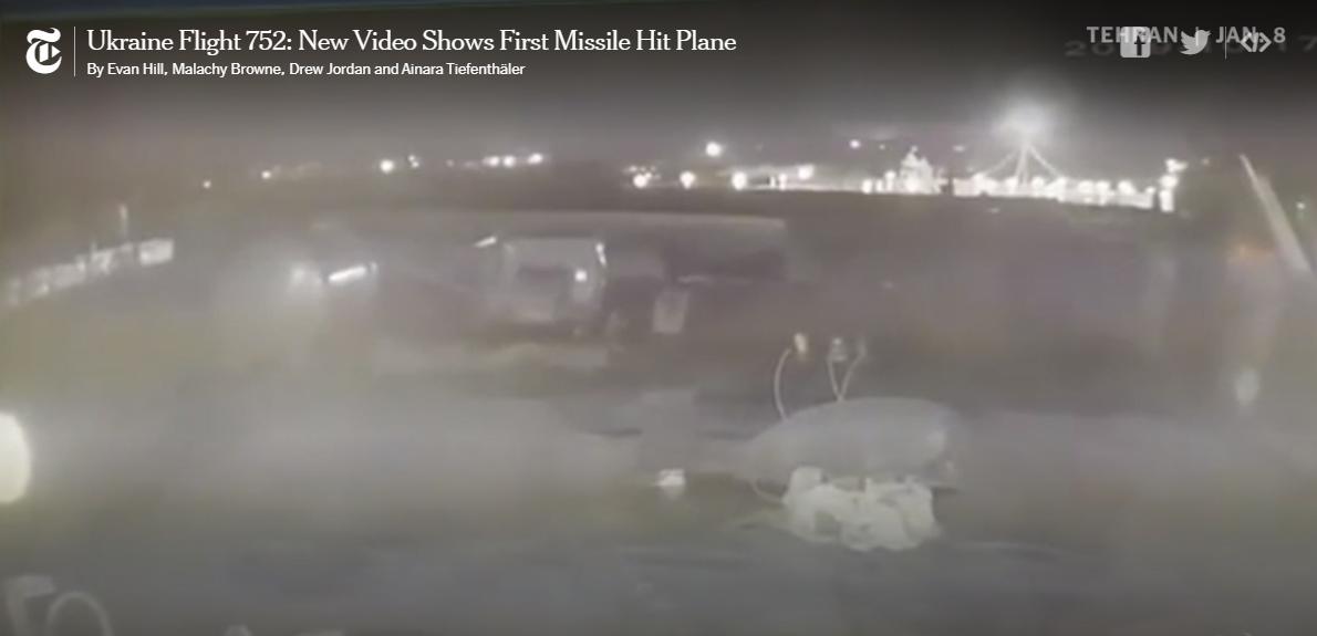 """""""نيويورك تايمز"""" وفيديو إسقاط الطائرة الأوكرانية.. لملمة الفضيحة بفضيحة أكبر!"""