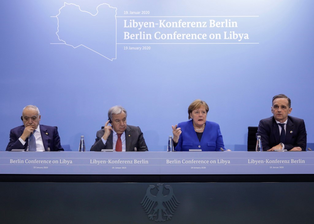البيان الختامي لمؤتمر برلين: وضعنا حداً لخطر التصعيد الشامل في ليبيا
