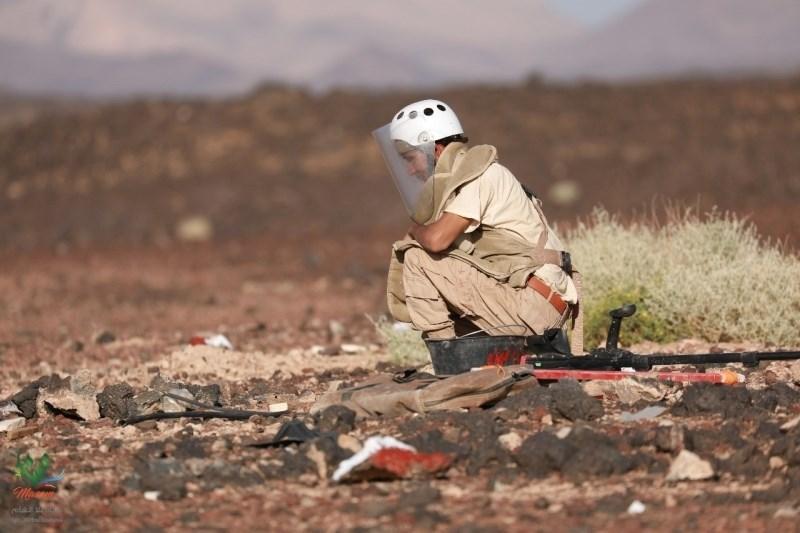 """حكومة صنعاء: معدات نزع الألغام محجوزة في جيبوتي من قبل  قوات """"التحالف"""""""