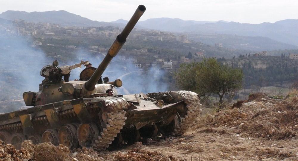 الجيش السوري يتصدى لهجوم عنيف لمسلحي جبهة النصرة  في ريف إدلب