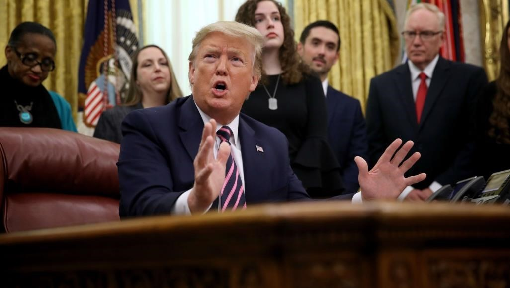 ترامب يحث مجلس الشيوخ على رفض المساءلة باعتبارها إهانة للدستور الأميركي