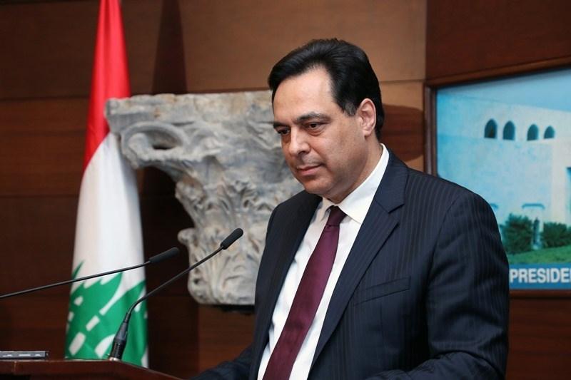 إعلان تشكيل الحكومة اللبنانية الجديدة برئاسة حسّان دياب