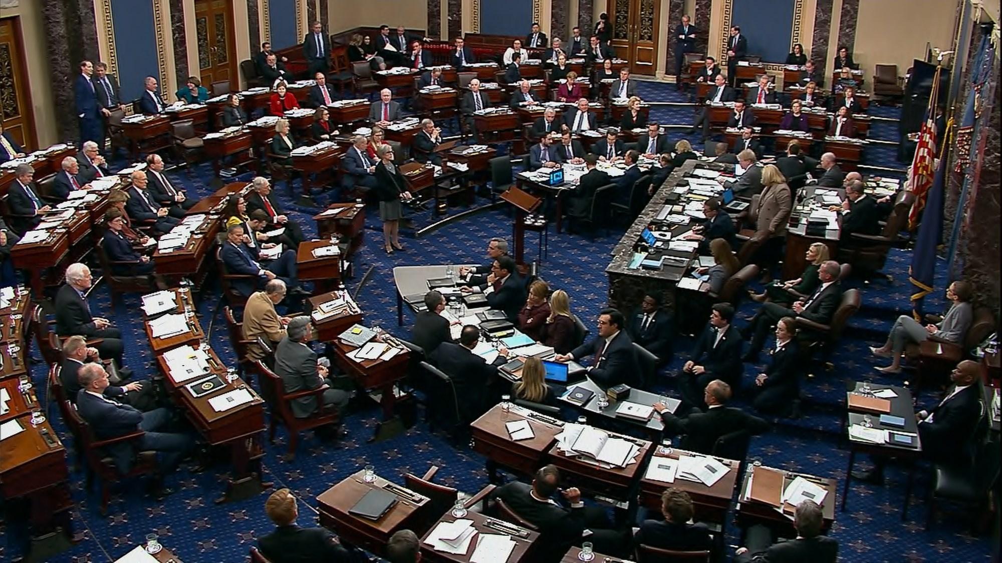 مجلس الشيوخ الأميركي يوافق على القواعد المنظمة لمحاكمة ترامب