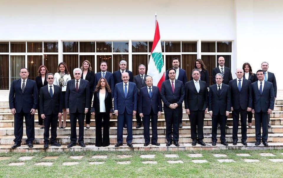 """في أولى جلساتها.. حسان ديّاب يؤكد أنّ الحكومة """"لكل اللبنانيين"""""""