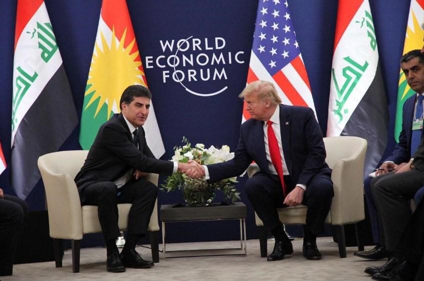 """""""واشنطن بوست"""": ترامب يخلط بين كرد سوريا وكرد العراق في اجتماعه مع بارزاني"""