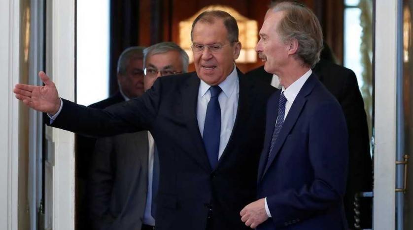 لافروف: الجيش السوري استعاد السيطرة على معظم الحدود والإرهابيون شارفوا على النهاية