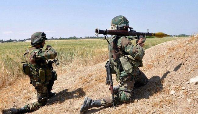 الجيش السوري يحرر بلدة الغدفة شرق معرة النعمان