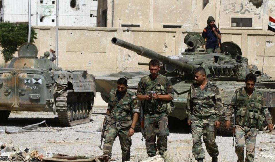 سانا: التنظيمات المسلحة تحضّر لهجوم كيميائي مزعوم في غرب حلب