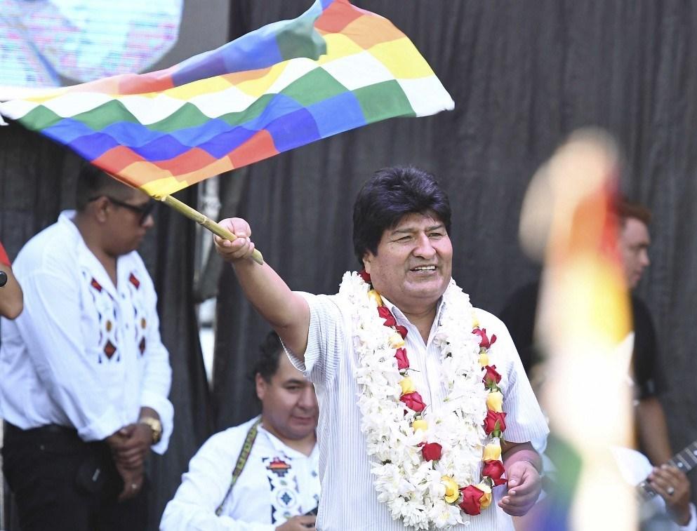 موراليس يتصدر نوايا التصويت في الانتخابات الرئاسية المقبلة